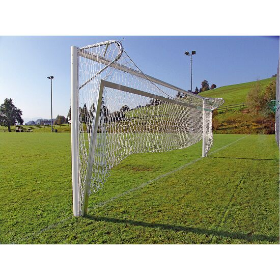 """Bundesliga"" Folding Aluminium Ground Frame, for Full-Size Goals 7.32x2.44 m Goal depth 150 cm"
