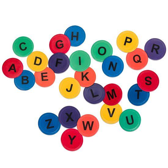 Bunte Bodenmarkierungen Buchstaben A-Z