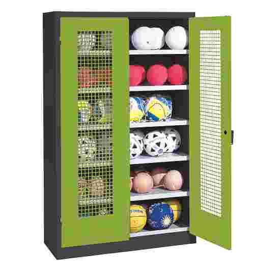 C+P Ball Cabinet Viridian green (RDS 110 80 60), Anthracite (RAL 7021)
