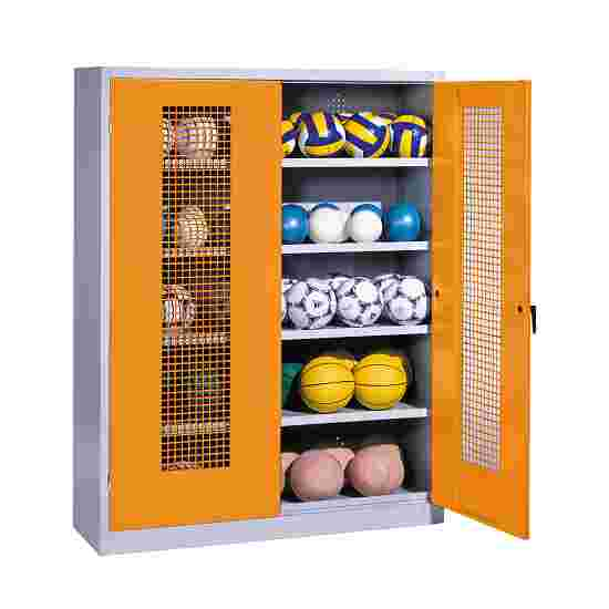 C+P Ball Cabinet Yellow orange (RAL 2000), Light grey (RAL 7035)