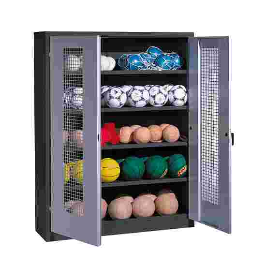 C+P Ball Cabinet Light grey (RAL 7035), Anthracite (RAL 7021)