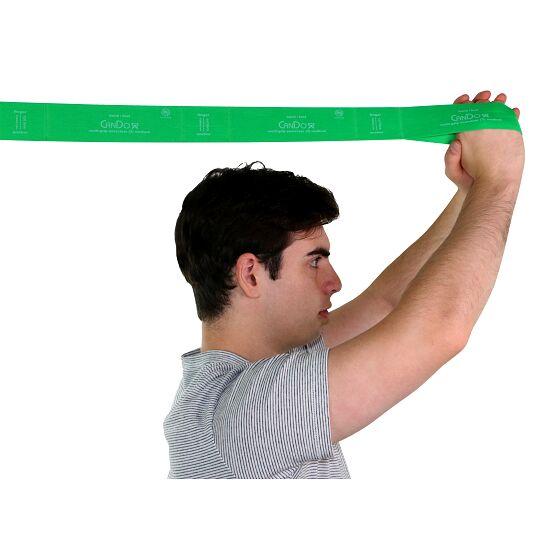 """CanDo® Multi-Grip™ Fitnessband """"Exerciser Rolle"""" Grün, stark"""