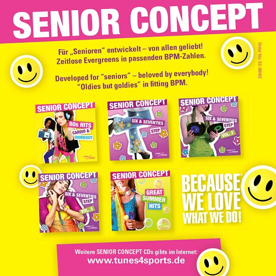 "CD ""Senior Concept 80s Hits, Vol. 2"""