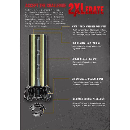 """CENTURY® Wavemaster® Standboxsack """"2XL Pro"""" Schwarz"""