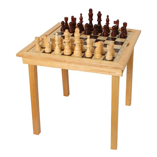 """Chess, Draughts & Ludo"" Games Table"