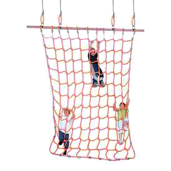 Climbing Net for Gymnastics Rings Polypropylene, orange, 3.5 m