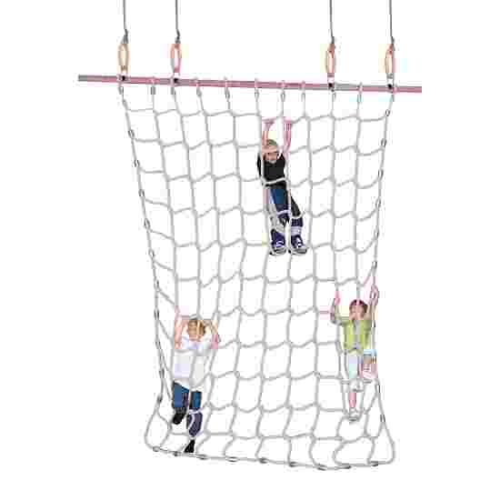 Climbing Net for Gymnastics Rings Natural staple fibre, 3.5 m