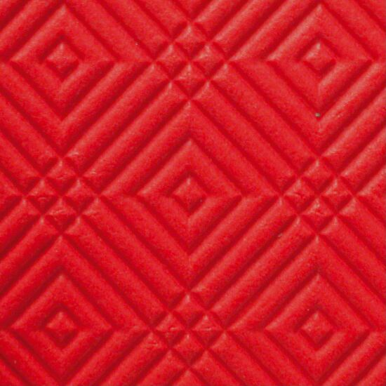 """""""Comfort"""" Exercise Mat Approx. 180x100x0.8 cm, Red"""