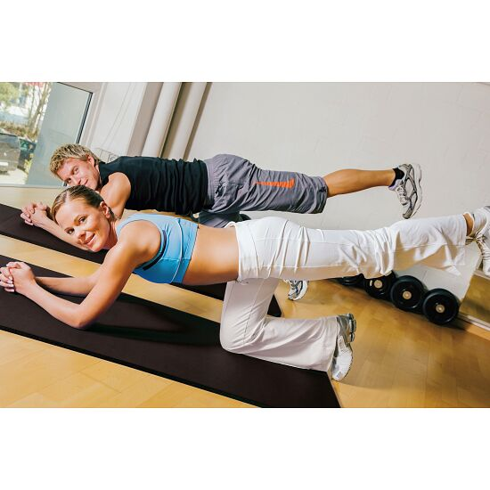 """Comfort"" Exercise Mat Approx. 180x100x0.8 cm, Black"