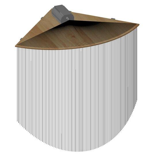 Corner Piece for Fibre-Optic Strands
