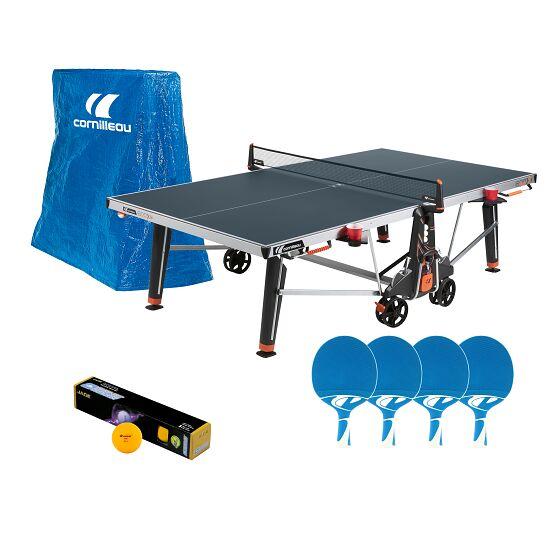 """Cornilleau® Tischtennis-Outdoor-Set """"500 M Crossover"""" Blau"""
