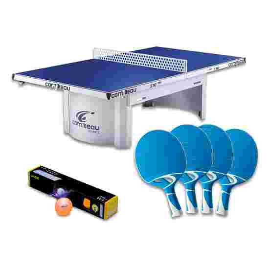"""Cornilleau Tischtennisplatte """"PRO 510 Outdoor""""-Set Blau"""