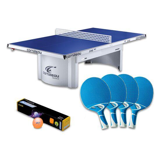 """Cornilleau® Tischtennisplatte """"PRO 510 Outdoor""""-Set Grau"""