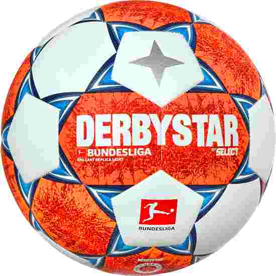 """Derbystar """"2020/2021 Bundesliga Brillant Replica Light"""" Football Size 5"""