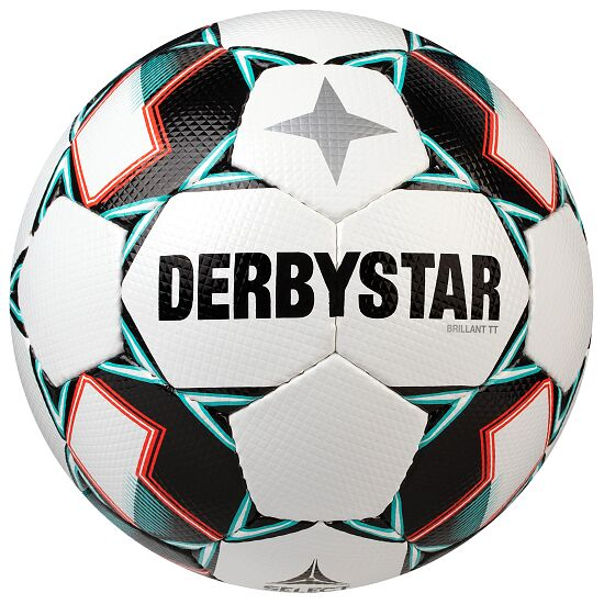 """Derbystar """"Brillant TT"""" Football White/green"""