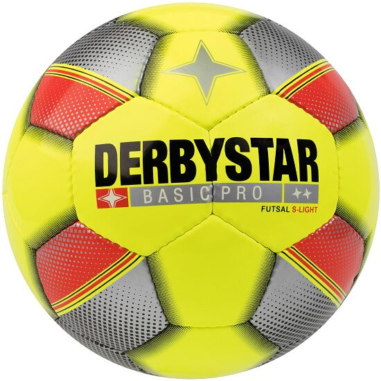 "Derbystar Futsal Ball ""Basic Pro"" S-Light, Size 4, 290 g"