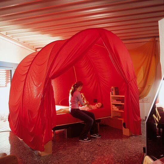 Die räumliche Höhle Größe 1: 220x125x230 cm, Rot
