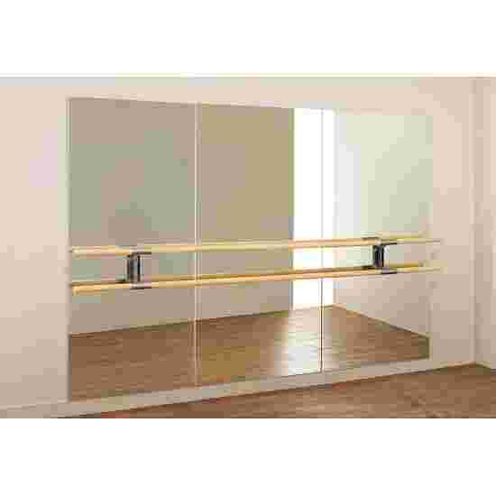 """Dinamica Ballet Ballettspiegel """"Amadeus"""" Doppelstange à 3 m und 2 Halter, 200x300 cm"""