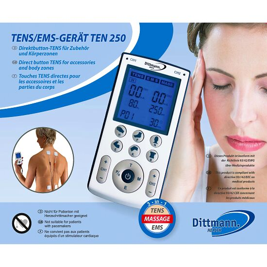 "Dittmann Health ""TEN 250"" Tens Machine"
