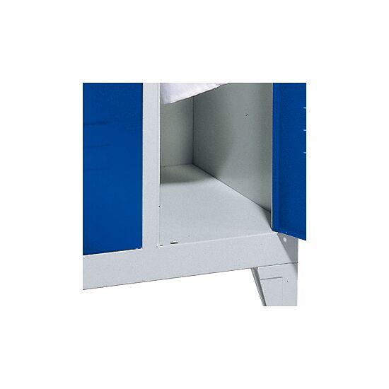 """Dobbelt Omklædningsskab """"S 2000 Classic"""" med 150 mm høje ben 185x61x50 cm / 4 rum, 300 mm"""
