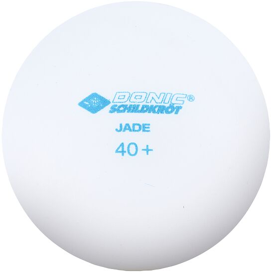 "Donic Schildkröt Bordtennisbolde ""Jade"" Hvide bolde"