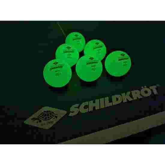 """Donic Schildkröt Tischtennisbälle """"Glow in the Dark"""""""