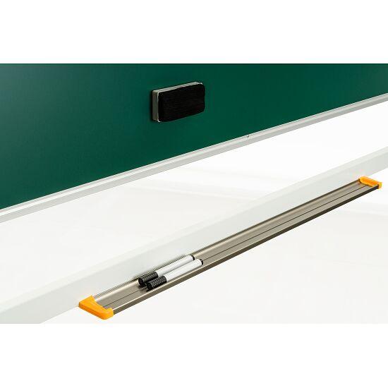Drehgestelltafel, fahrbar Kreidetafel/Whiteboard, 150x100 cm