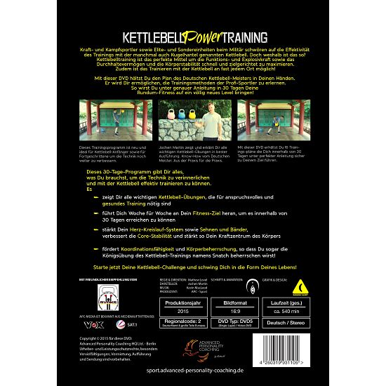 DVD Kettlebell Power Training - Schwing Dich fit in 30 Tagen!