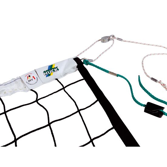 """""""DVV 1"""" Volleyball Tournament Net with Guide Pulley"""