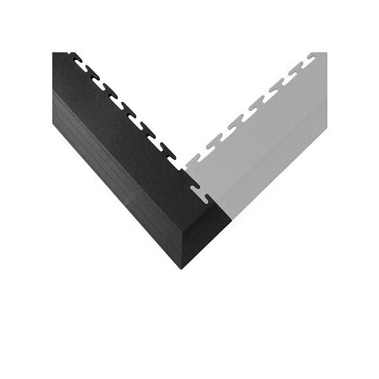 Ecotile Rand-/Eckstücke Eckstück, Dunkelgrau, 7 mm