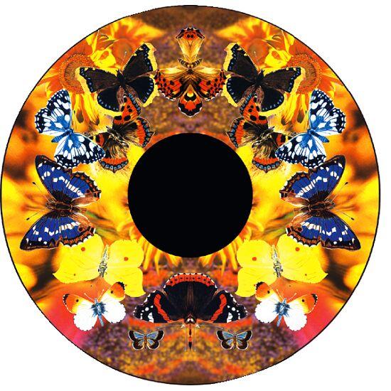 Effekthjul Sommerfugle