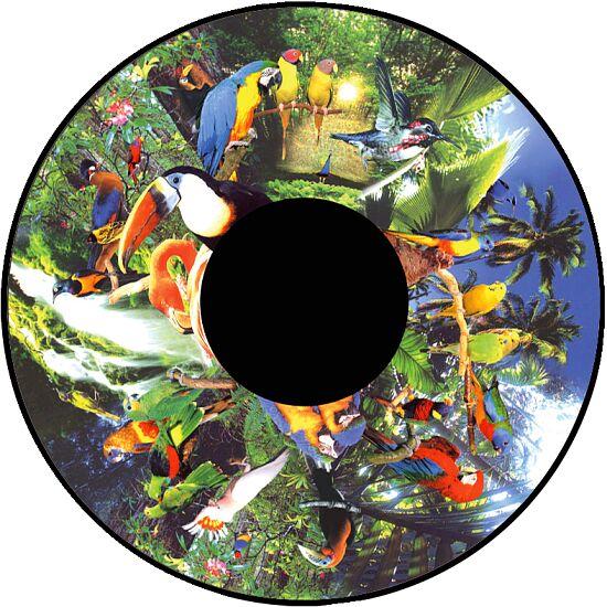 Effekthjul Tropiske fugle
