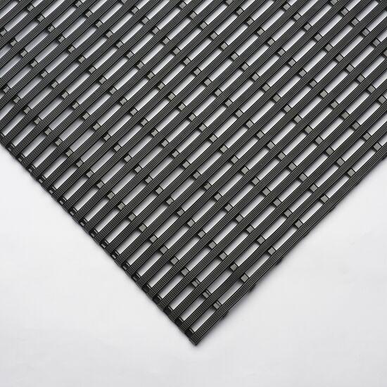 EHA® Nassraum-Bädermatten 60 cm, Schwarz