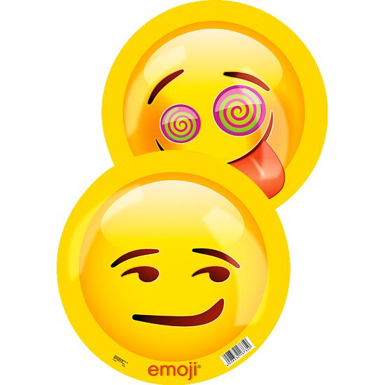 Emoji® Kunststoffbälle ø 23 cm