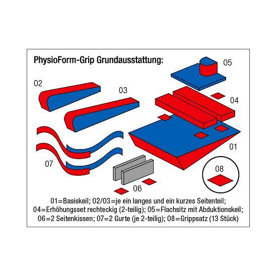 "Enste® Lejringssystem ""PhysioForm-Grip"" 74x58 cm (Str. I)"