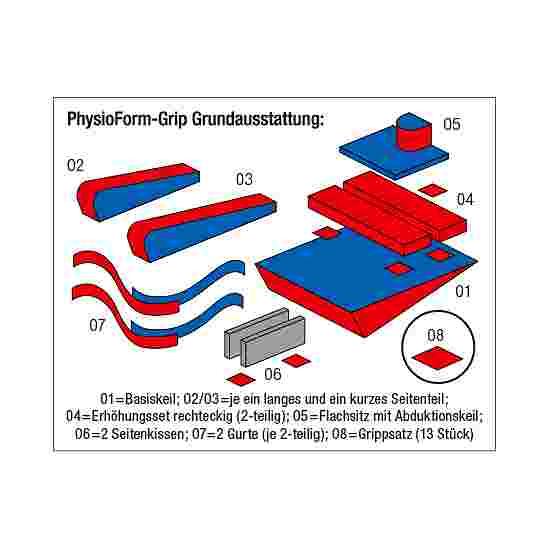 "Enste Physioform Reha Lagerungssystem ""PhysioForm-Grip"" 74x58 cm (Größe I)"