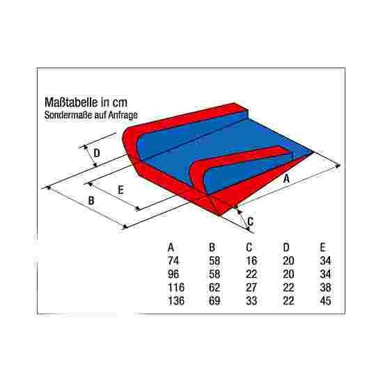 "Enste Physioform Reha ""PhysioForm-Grip"" Positioning Aids 74x58 cm (Size I)"