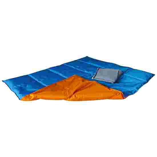 Enste Physioform Reha Tungt dække/vægtdyne 90x72 cm / Orange-Blå, Yderbetræk Suratec