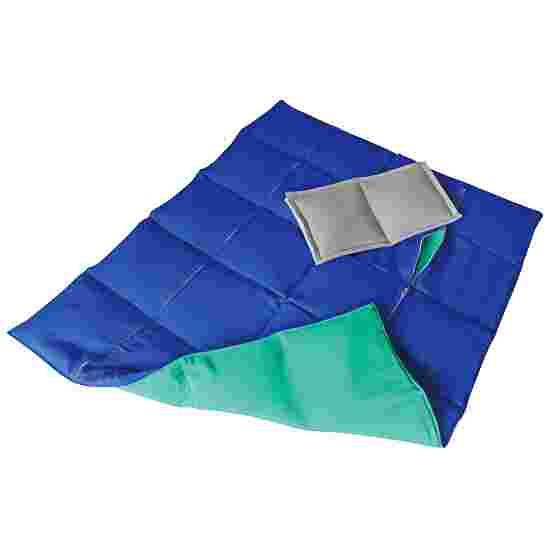 Enste Physioform Reha Tungt dække/vægtdyne 90x72 cm / Grøn-Blå, Yderbetræk Bomuld