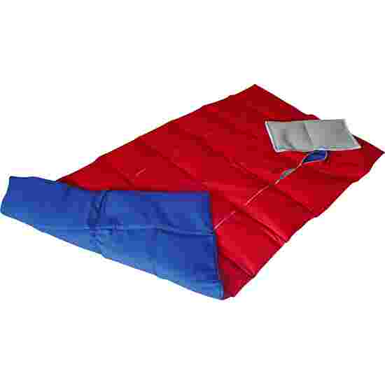Enste Physioform Reha Tungt dække/vægtdyne 144x72 cm / Blå-Rød, Yderbetræk Bomuld