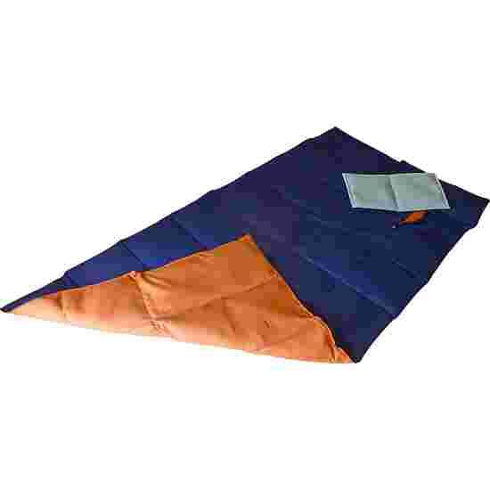 Enste Physioform Reha Tungt dække/vægtdyne 180x90 cm / Mørkeblå-Terracotta, Yderbetræk Bomuld