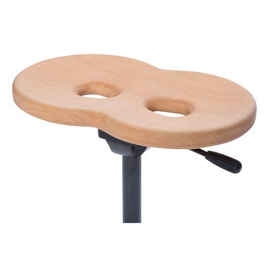 "Erfi® Therapeutenhocker ""TH2"" mit Holz-Sitzacht"