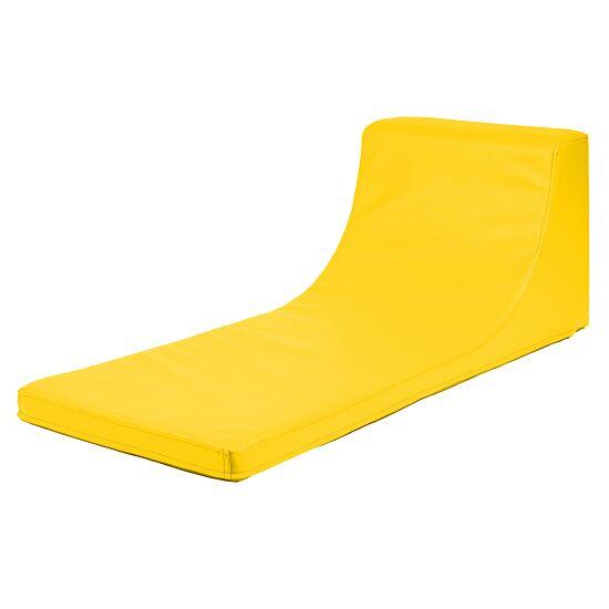 Ergonomische Liegematte Gelb