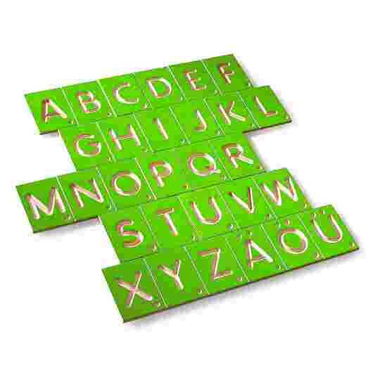 Erzi Lernspiel Großbuchstaben
