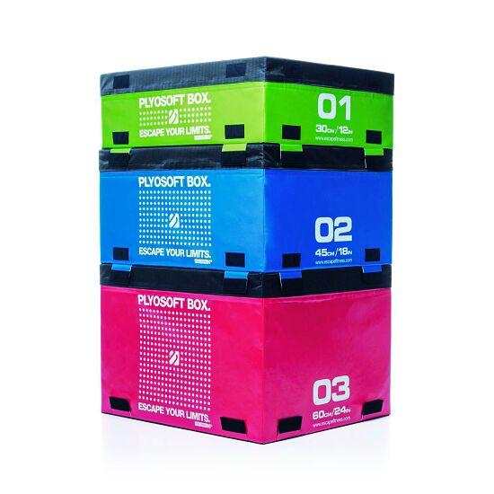 """Escape Plyosoftbox """"Coloured"""" 90x75x60 cm, Rot"""