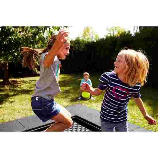 """Eurotramp Kids-Bodentrampolin """"Playground"""" Sprungtuch eckig, Ohne Zusatzbeschichtung"""