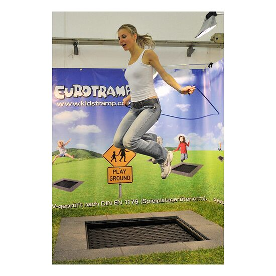 "Eurotramp® Kids Tramp ""Playground Mini"" Sprungtuch eckig"