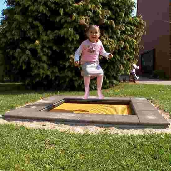 "Eurotramp ""Kindergarten Mini"" Kids' Trampoline Square trampoline bed"
