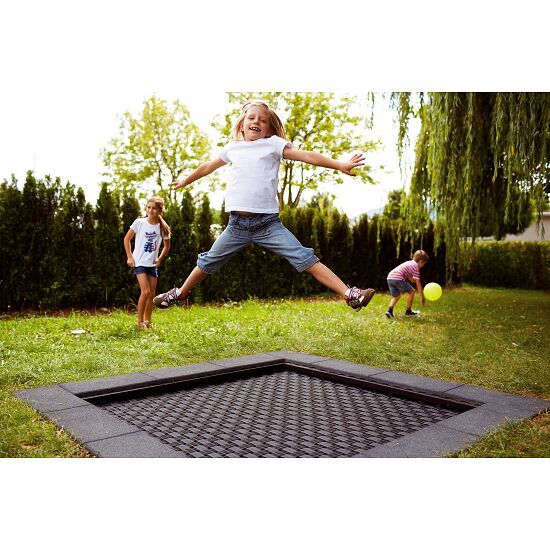 "Eurotramp® ""Playground"" Kids' Trampoline Square trampoline bed"