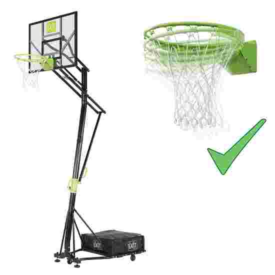 """""""EXIT Galaxy Portable Basket"""" Basketball Unit with Dunkable Hoop"""